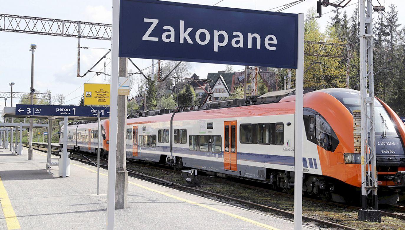 Codziennie na trasę wyjedzie 14 pociągów do Zakopanego (fot. arch.PAP/Grzegorz Momot)