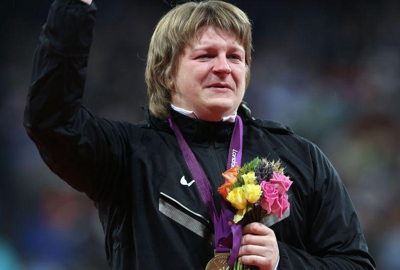 Nadzieżda Ostapczuk została mistrzynią olimpijską w pchnięciu kulą (fot. Getty Images)