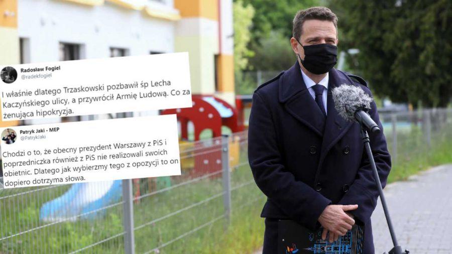 Rafał Trzaskowski walczy o prezydenturę (fot. PAP/Rafał Guz)