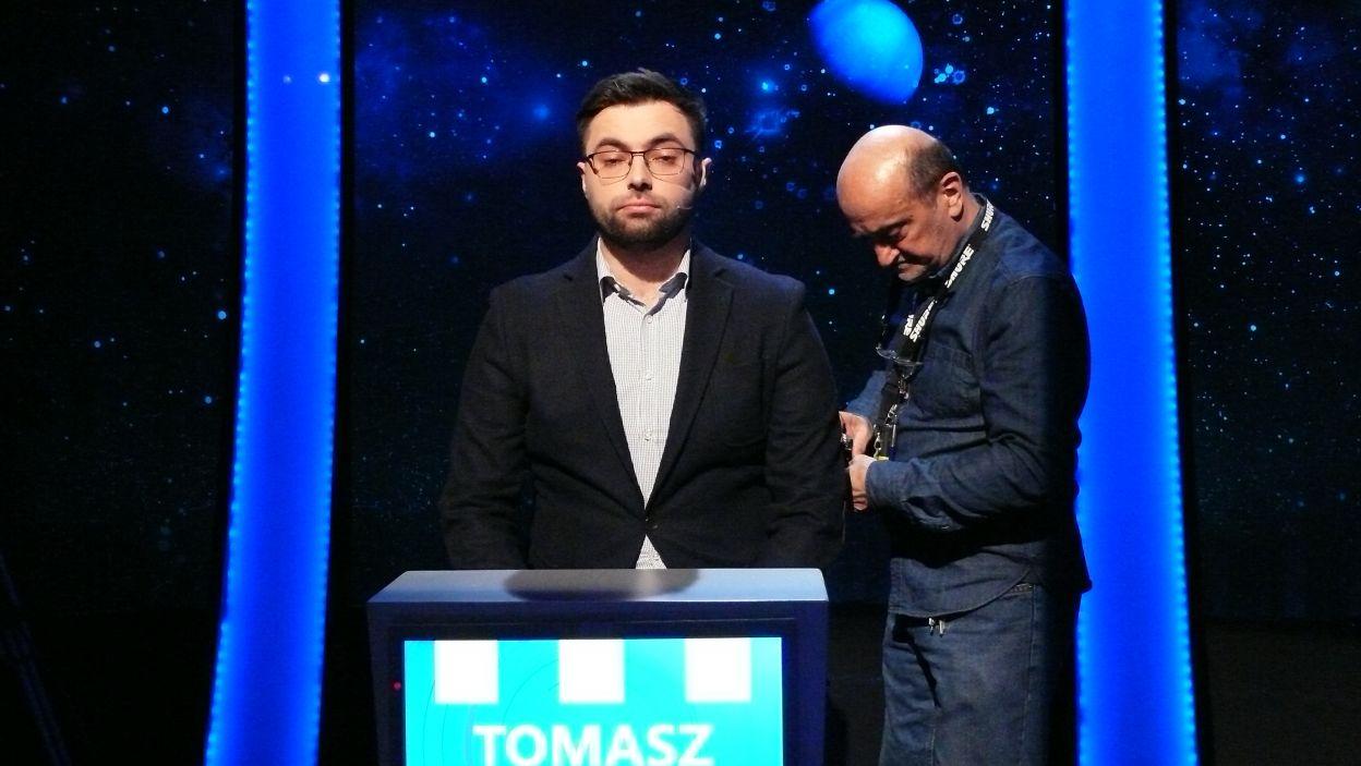 Pan Tomasz przygotowuje się do nagrania 6 odcinka 113 edycji
