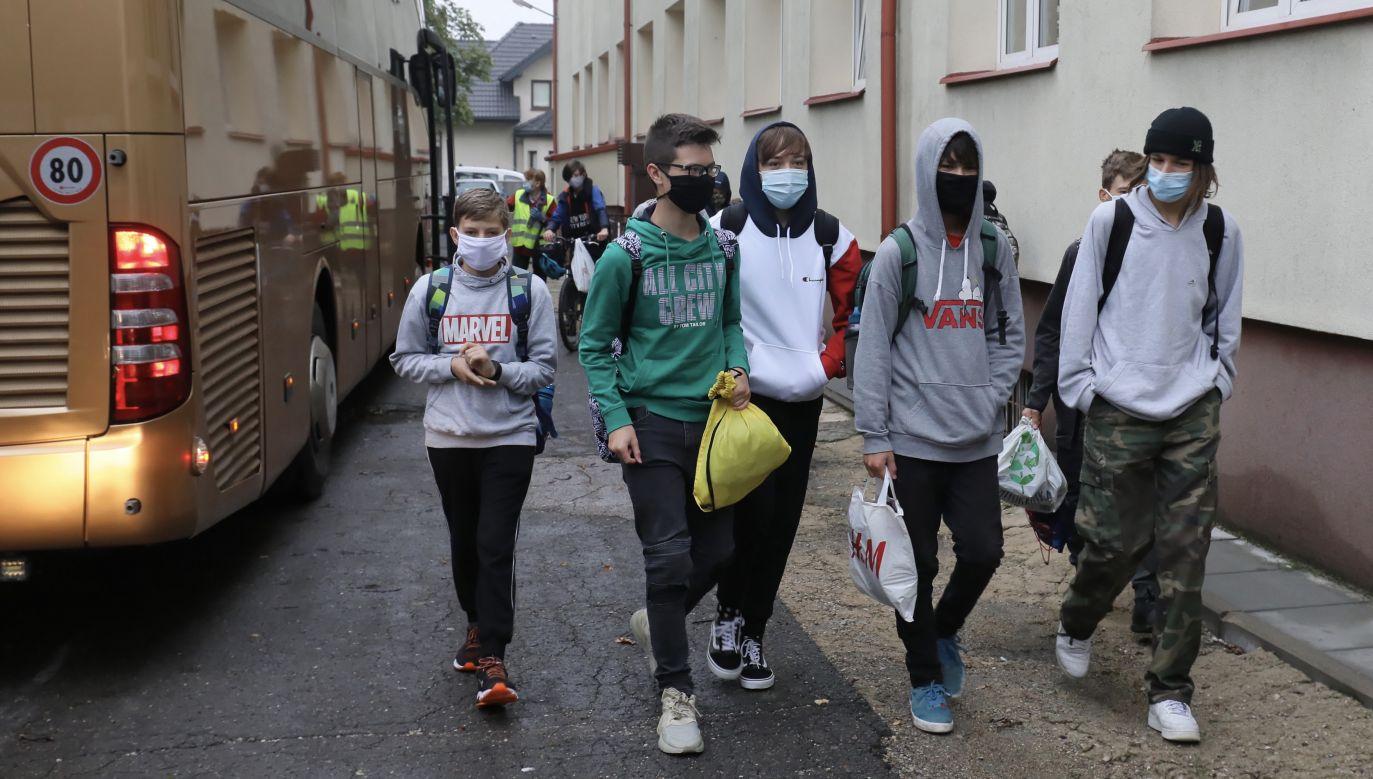 Szef resortu ocenił, że sprawdza się reakcja lokalna na zwiększone zagrożenie epidemiczne (fot. arch.PAP/Paweł Supernak)