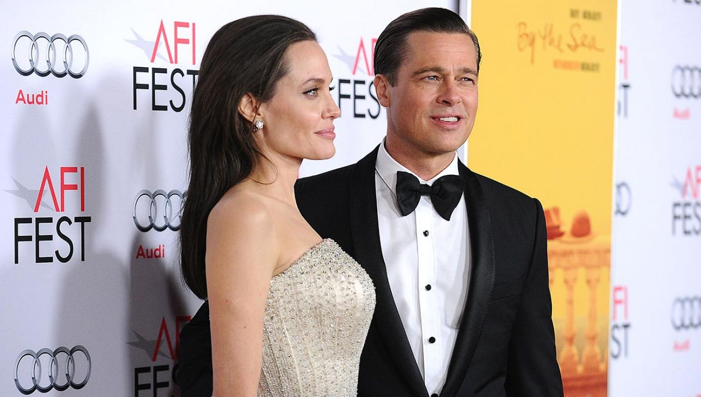 Angelina Jolie i Brad Pitt (fot.  Jason LaVeris/FilmMagic/Gettimages)