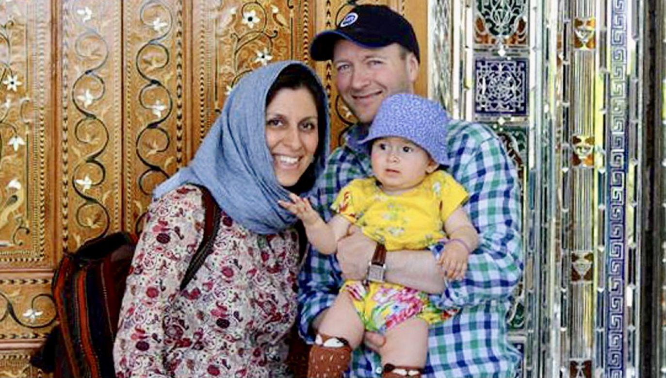 Nazanin Zaghari-Ratcliffe została wypuszczona na wolność (fot. PAP/EPA/FREE NAZANIN CAMPAIGN HANDOUT)