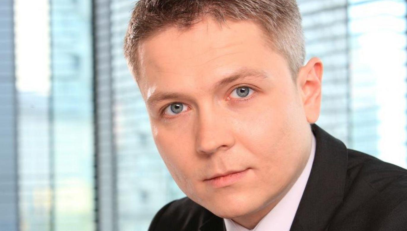 Michał Szpakowski skasował swoje konto oznaczone hasztagiem #SilniRazem (fot. mat.pras.)