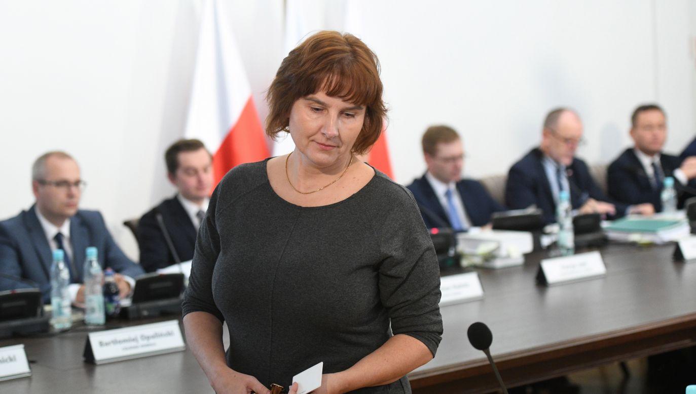 Córka Jolanty Brzeskiej, Magda Brzeska (fot. arch. PAP/Jacek Turczyk)