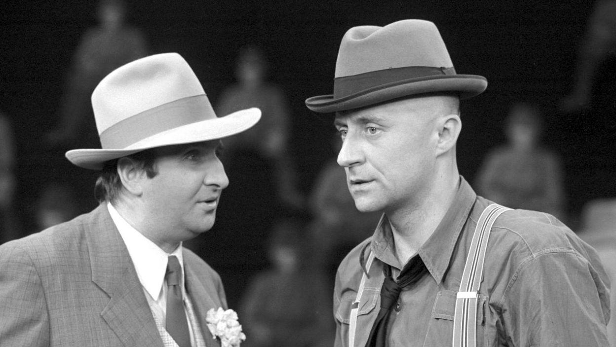 """Kariera Artura Ui"" Bertolda Brechta miała premierę w 1973 roku (fot. TVP)"