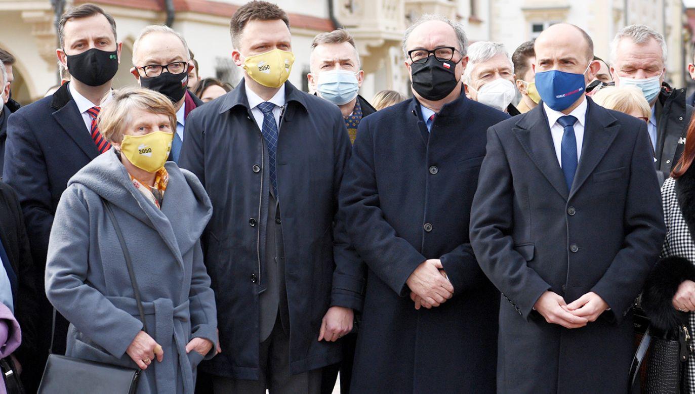 Manasterski: opozycja cały czas gra wyłącznie na emocjach (fot. PAP/Darek Delmanowicz)