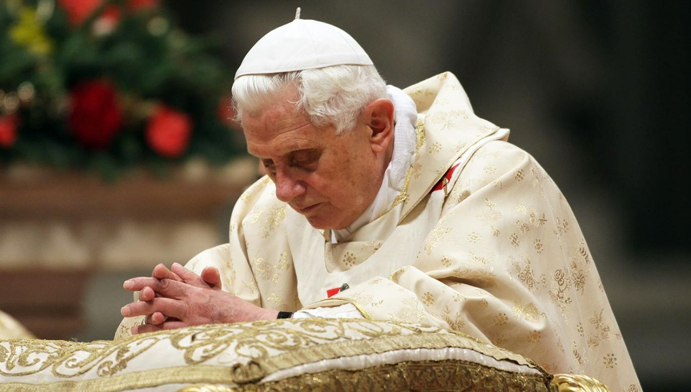 Papież senior Benedykt XVI (fot.  Franco Origlia/Getty Images)
