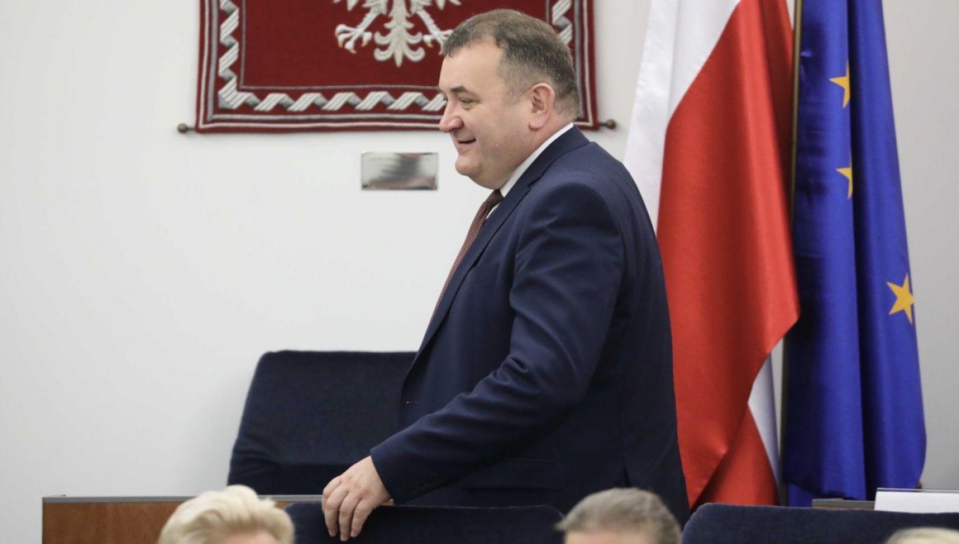Gawłowski ma poważne zarzuty korupcyjne (fot. arch.PAP)