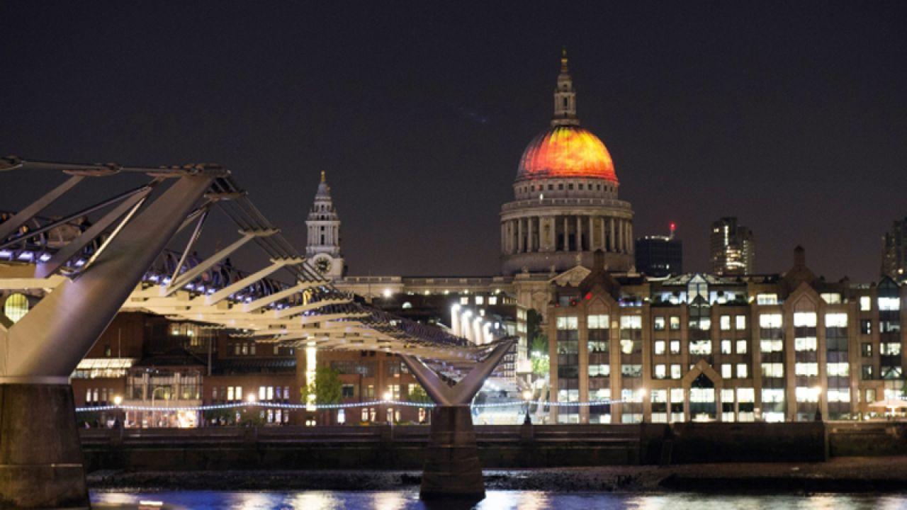 Wielki pożar Londynu trwał od 2 do 5 września 1666 r. (fot. PAP/EPA/WILL OLIVER)