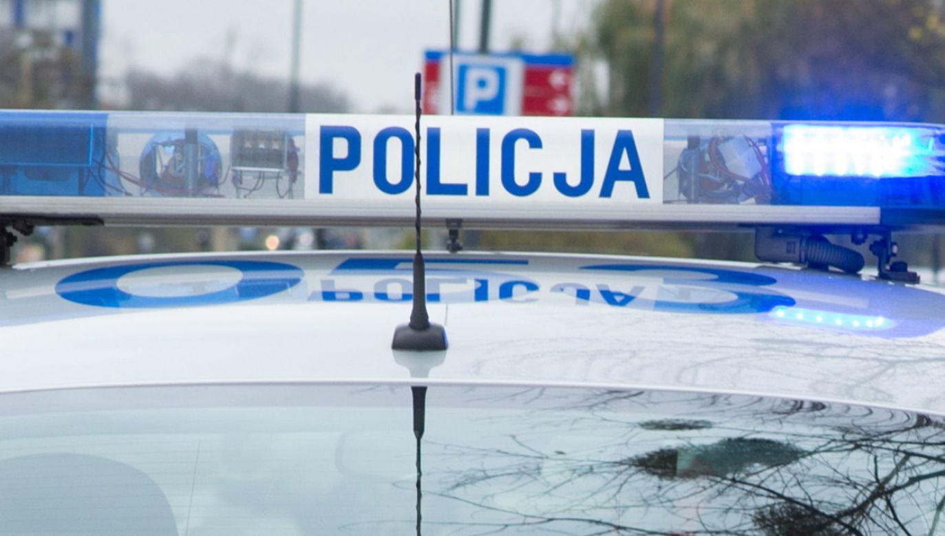 Do zdarzenia doszło 11 lipca ok. godz. 17:50 w Tomaszowie Mazowieckim (fot. policja)