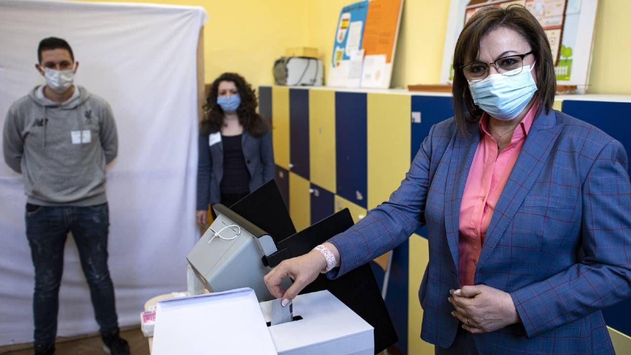 W Bułgarii zanosi się na powyborczy chaos (fot. PAP/EPA/VASSIL DONEV)