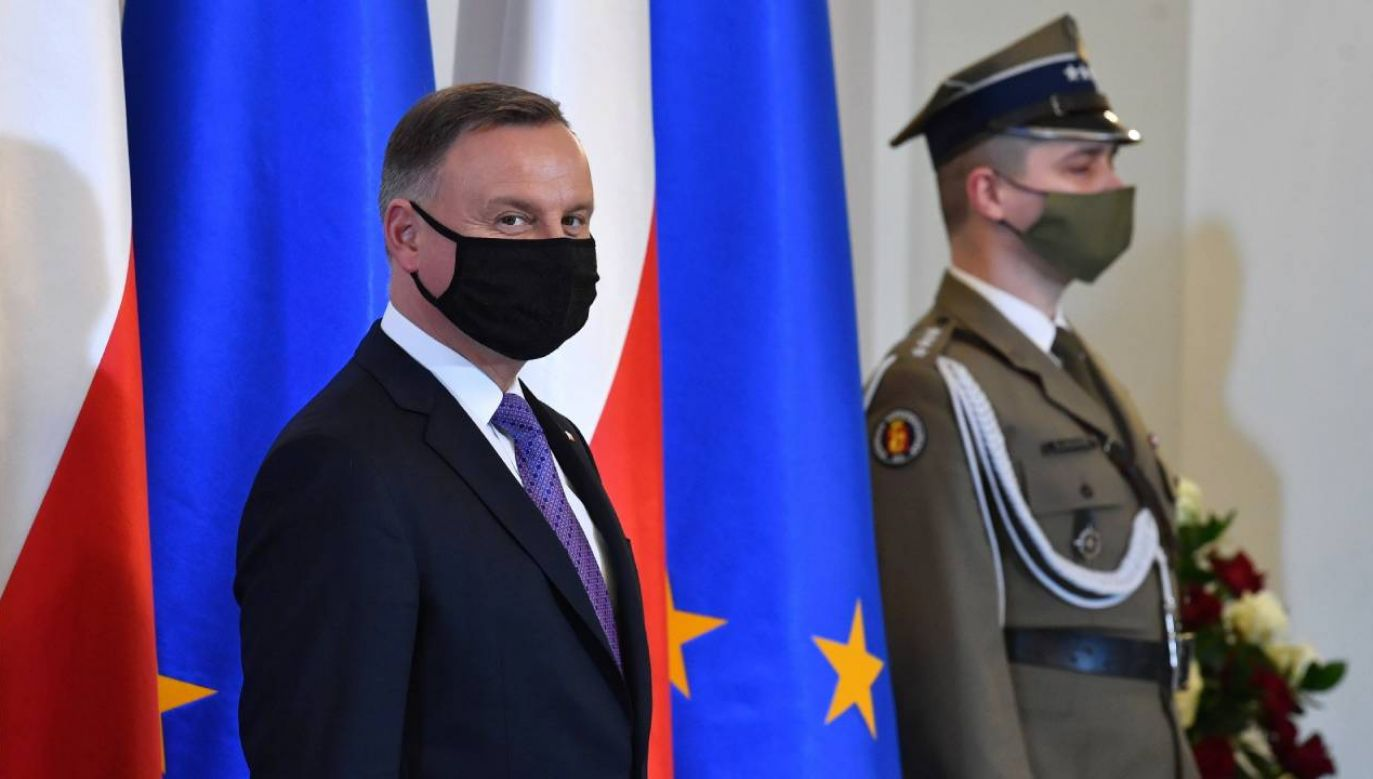 Andrzej Duda (fot. PAP/Radek Pietruszka)