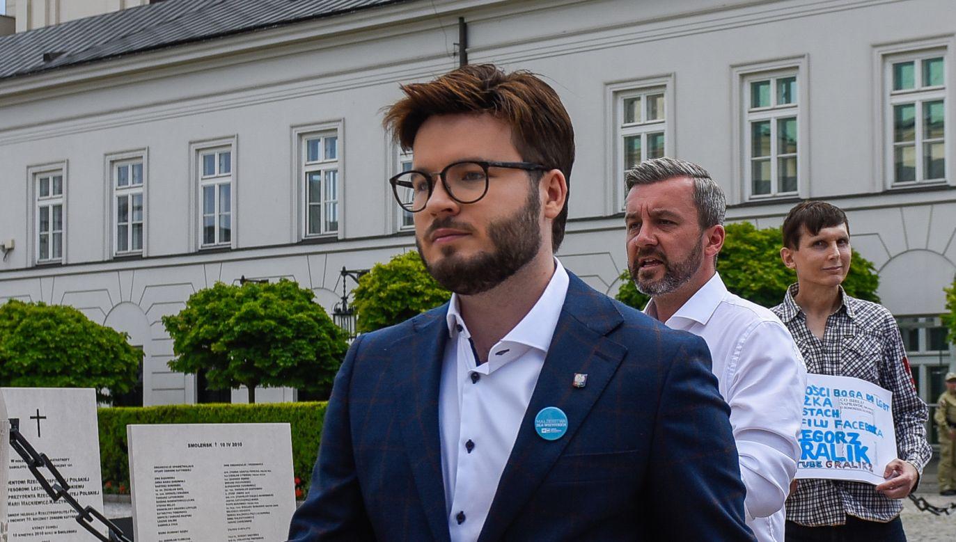 Bart Staszewski, aktywista LGBT (fot. Omar Marques/Getty Images)