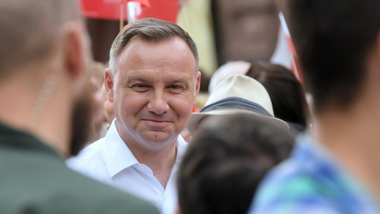 Andrzej Duda w Koninie zdobył najwięcej głosów – 41,46 proc. (fot. PAP/Tytus Żmijewski)
