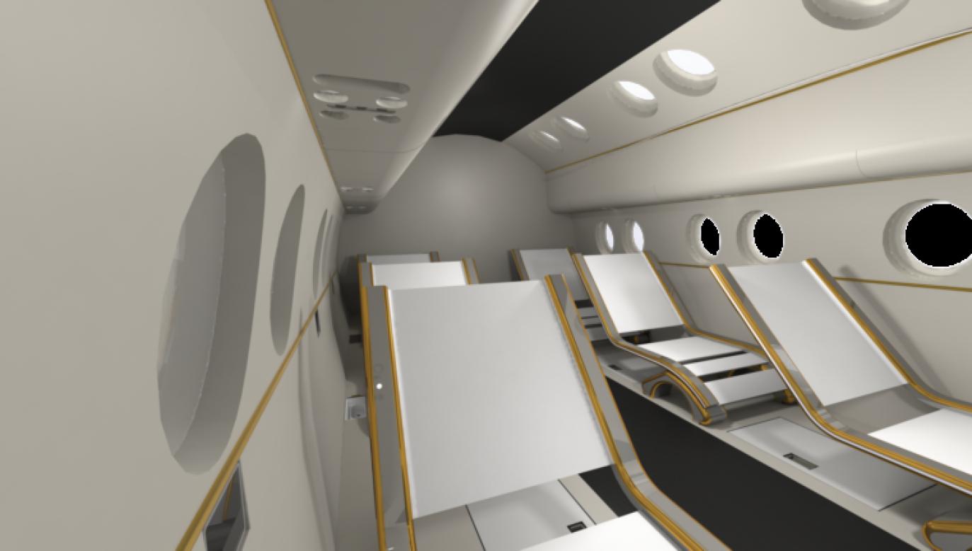 Model 3D kabiny załogowej, zaprojektowanej przez wrocławskich studentów (fot. innspace.pl)