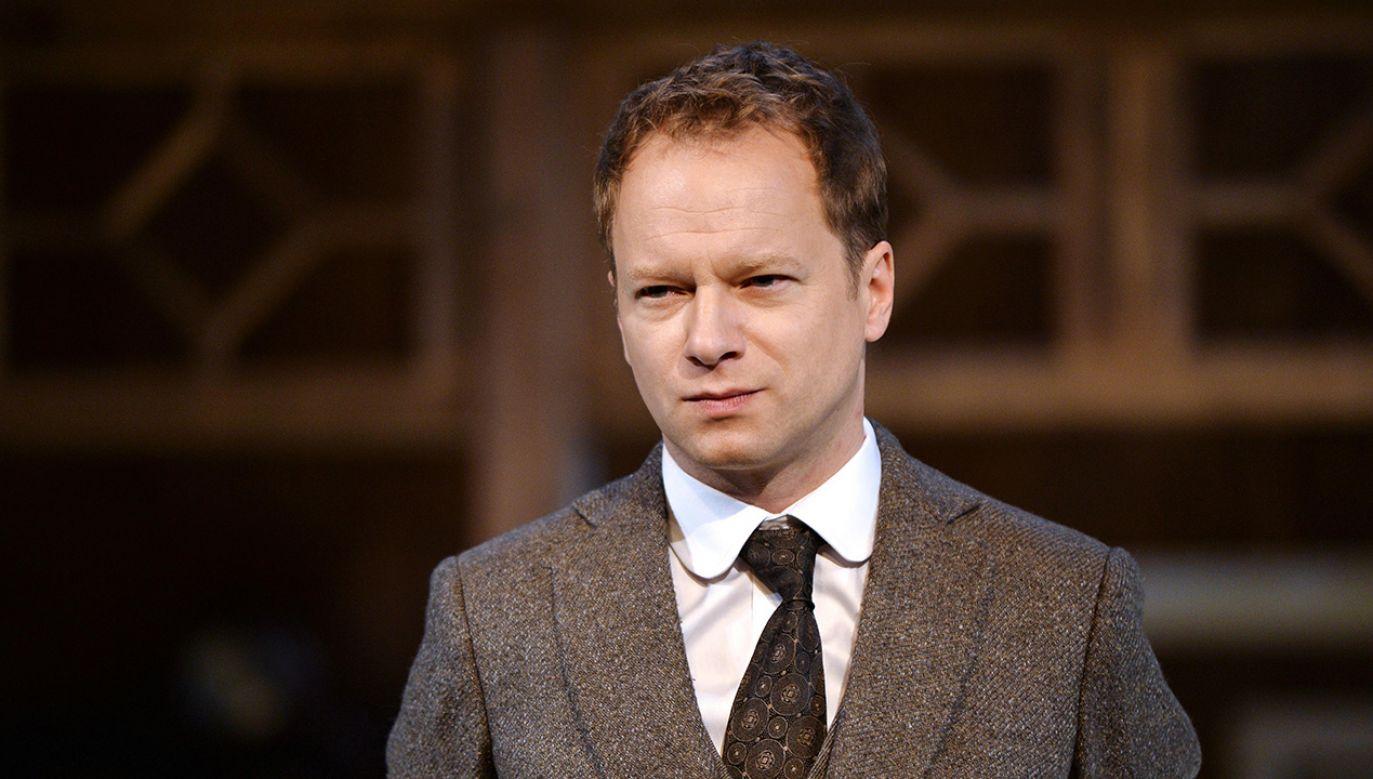 Aktor zaatakował nie tylko polityków, ale także wyborców (fot. arch. PAP/Marcin Kmieciński)