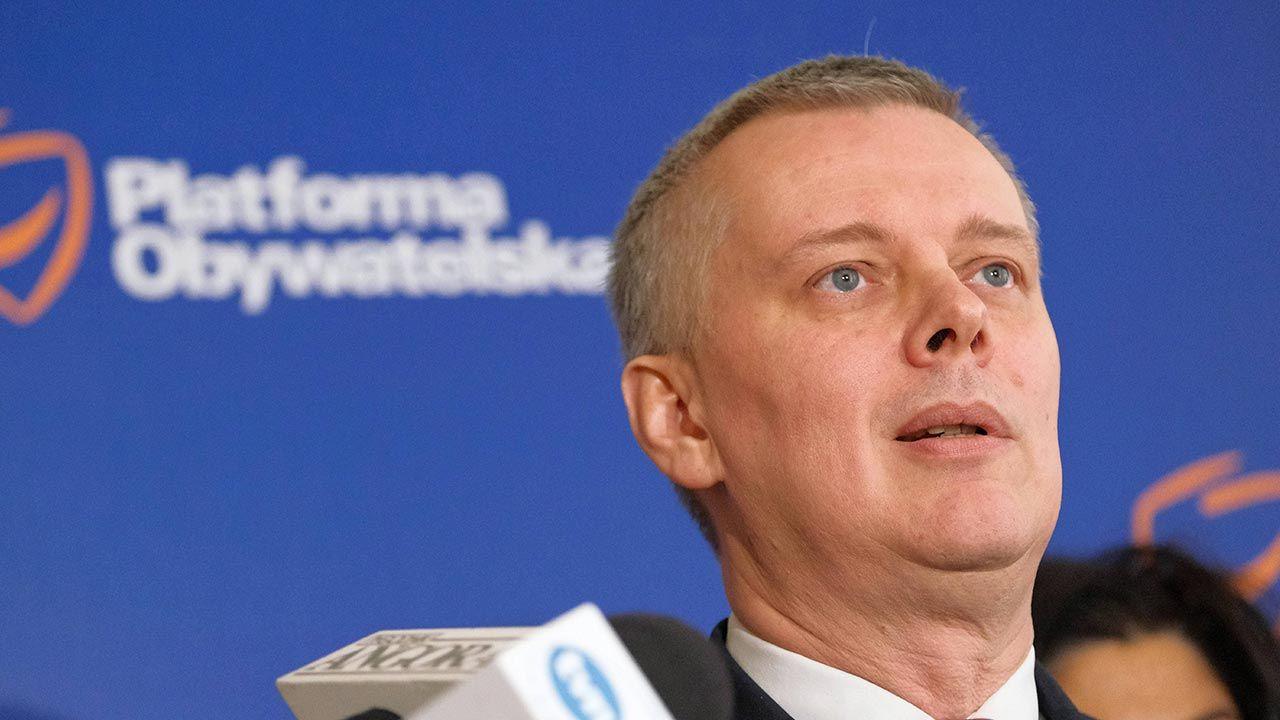 Tomasz Siemoniak: w innych okolicznościach jestem zawsze gotowy do dyskusji (fot. PAP/Mateusz Marek)