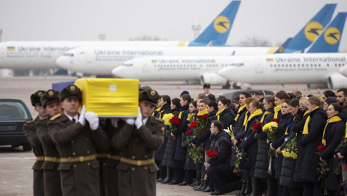 W katastrofie ukraińskiej maszyny zginęło 176 osób (fot. PAP/ EPA/HANDOUT)