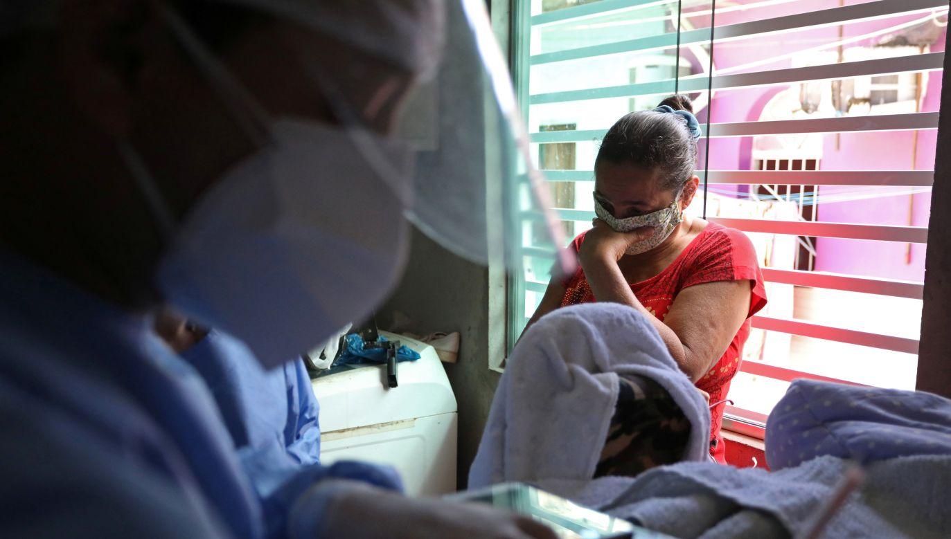 Brazylia pod względem liczby zakażeń jest druga na świecie (fot. Bruno Kelly/Reuters)