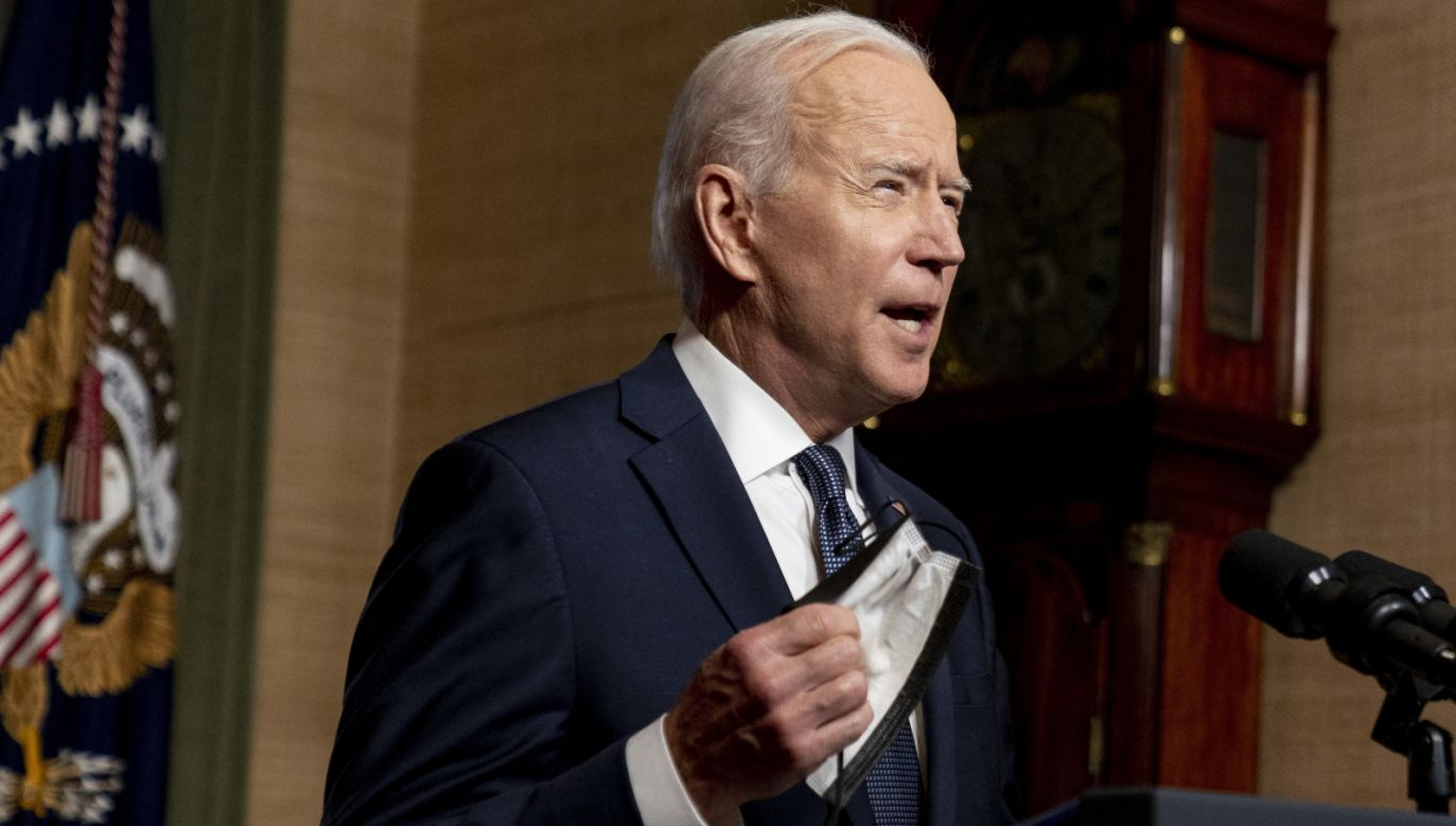Prezydent USA Joe Biden (fot. PAP/EPA)