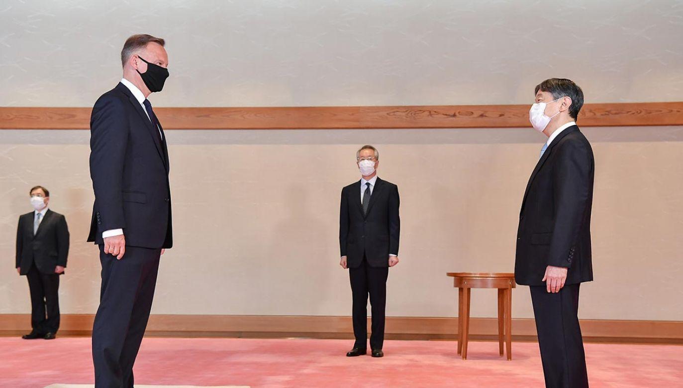 Wizyta Andrzeja Dudy w Japonii (fot. KPRP)