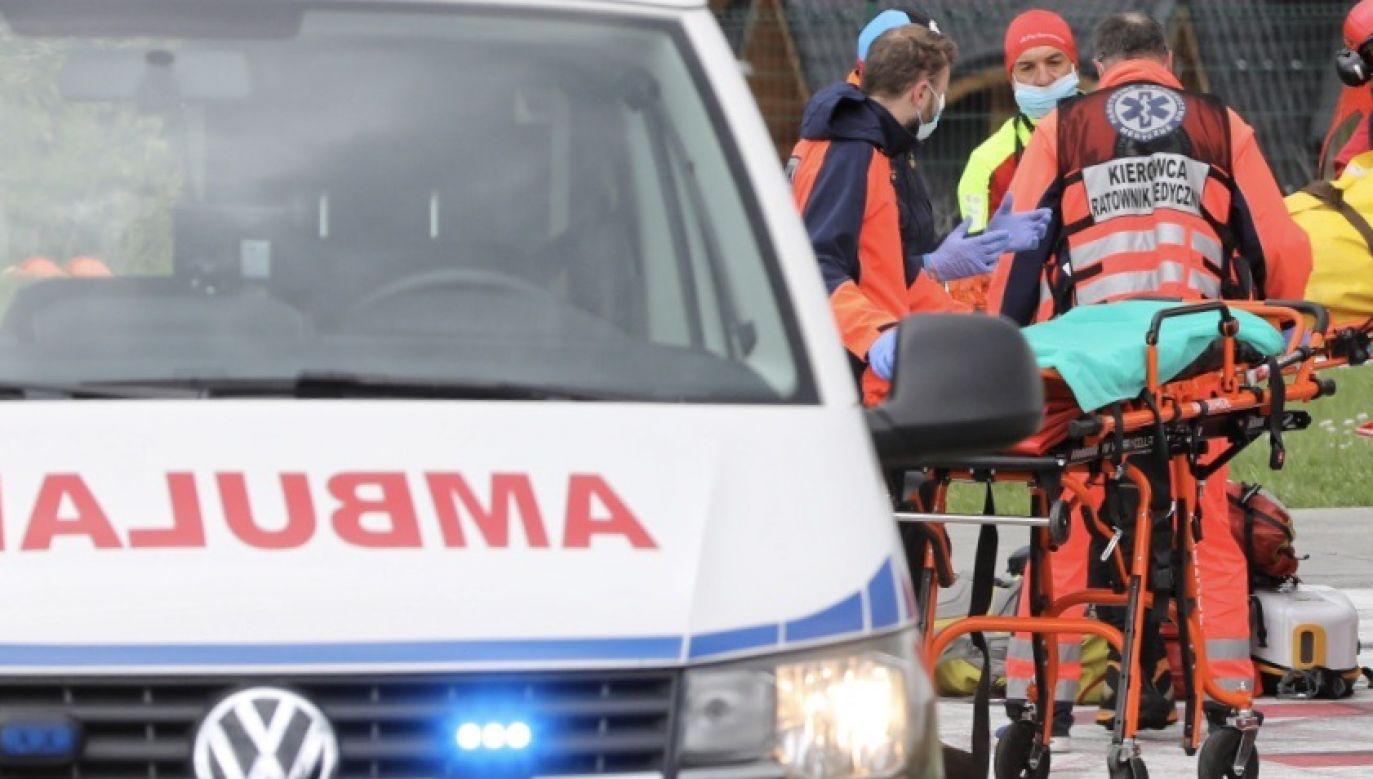 Do wypadku doszło na drodze krajowej 20, na odcinku między Półcznem a Wygodą (Pomorskie) (fot. PAP/Grzegorz Momot, zdjęcie ilustracyjne)