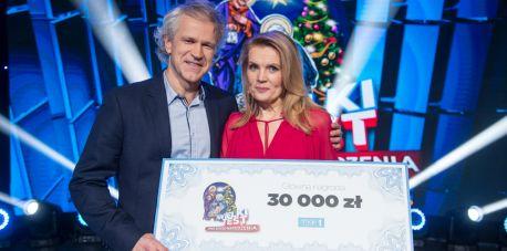 Radosław Pazura i Dorota Chotecka zwyciężyli w Wielkim Teście o Świętach Bożego Narodzenia!
