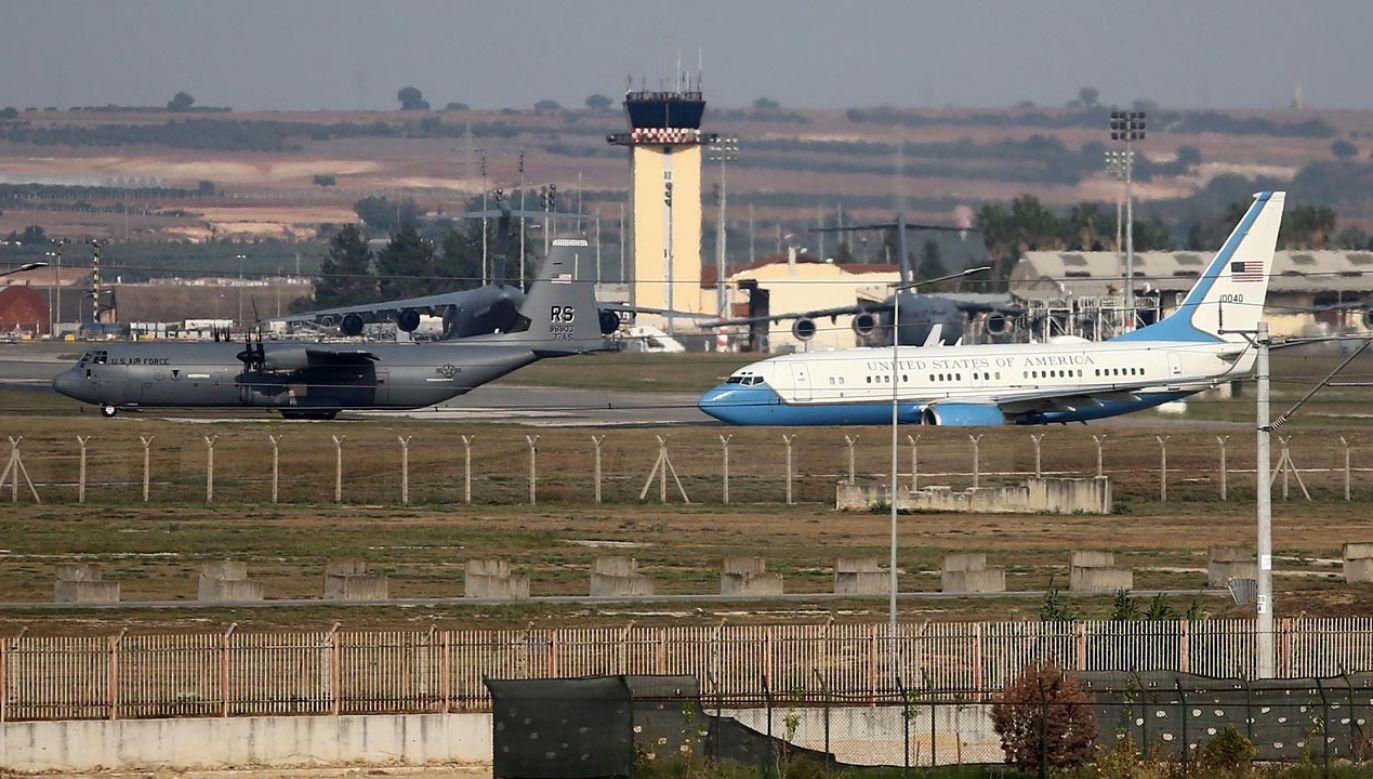 Turcja nie wyklucza zamknięcia bazy lotniczej Incirlik (fot.  Ibrahim Erikan/Anadolu Agency via Getty Images)