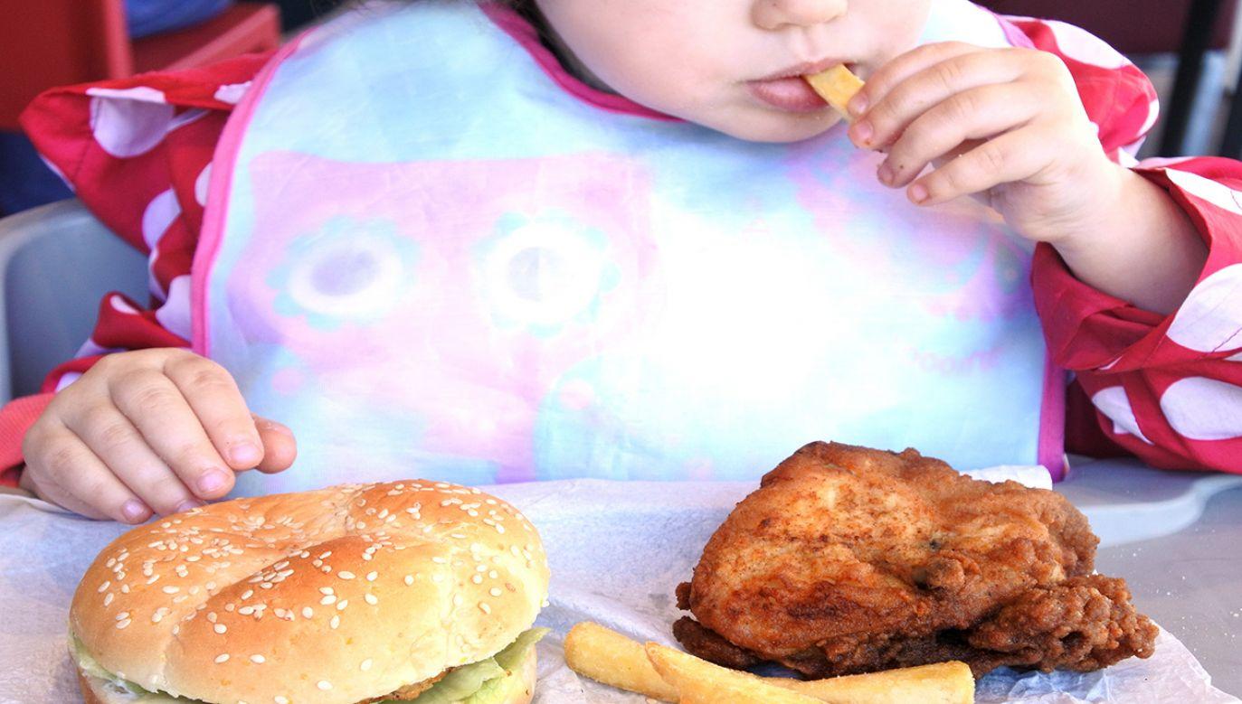 Otyłość wpływa na różnorodne sfery psychiki dziecka (fot. Shutterstock/ChameleonsEye)