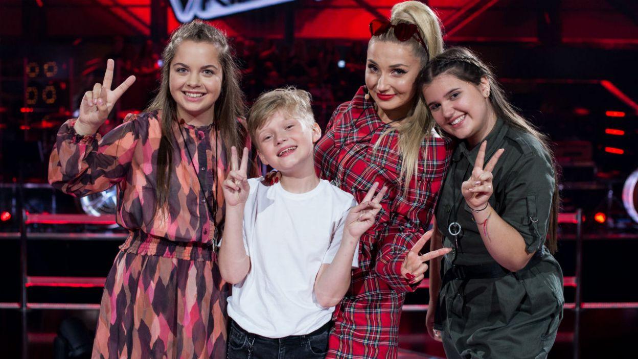 – Moja drużyna jest różnorodna! – choć wybór był trudny, Cleo wybrała swoich wokalistów (fot. J. Bogacz/TVP)
