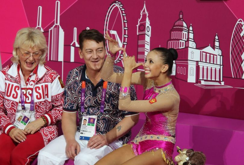 Dmitrjewa mogła cieszyć się ze srebrnego medalu (fot.PAP)