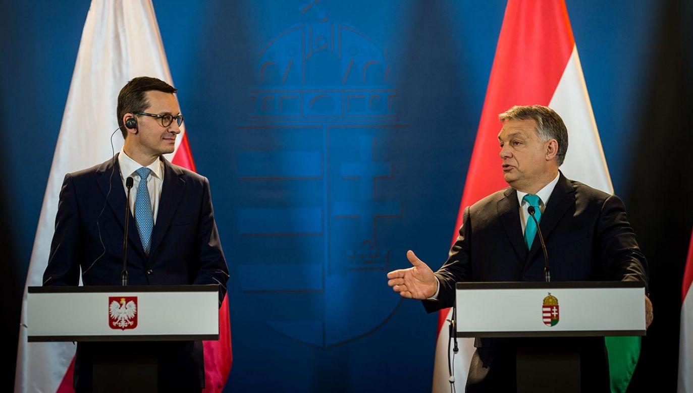"""""""Ważne jest to, aby pokazać wspólne działania dyplomacji"""". (fot. Prime Ministry Press Office/Anadolu Agency/Getty Images)"""