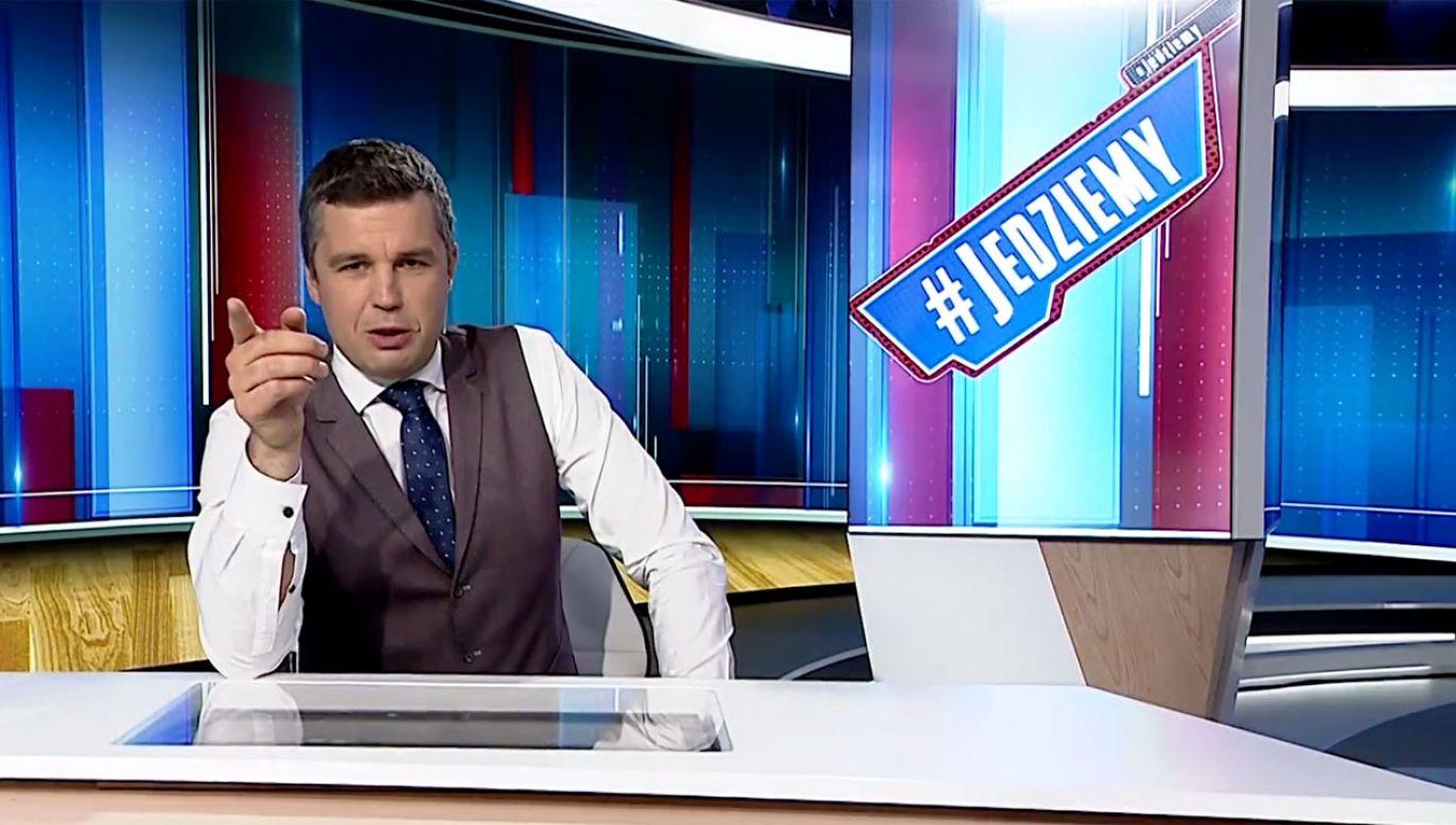 Nowy program będzie emitowany od poniedziałku do czwartku o 7.10 (fot. TVP Info)