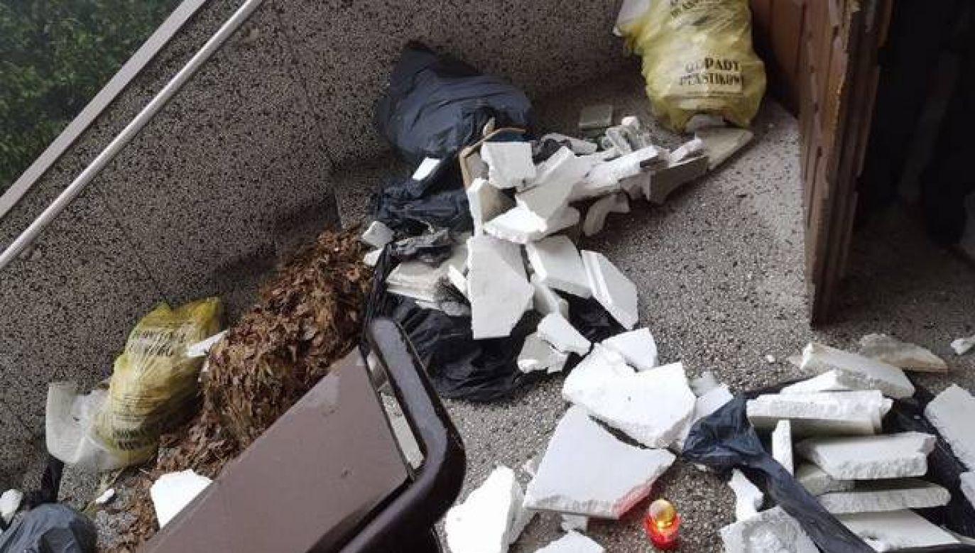 O zdarzeniu poinformował na Twitterze radny PiS Dariusz Matecki (fot. Dariusz Matecki, Twitter)