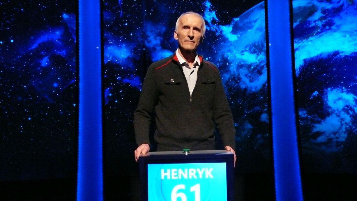 Henryk Czachor - zwycięzca 9 odcinka 113 edycji