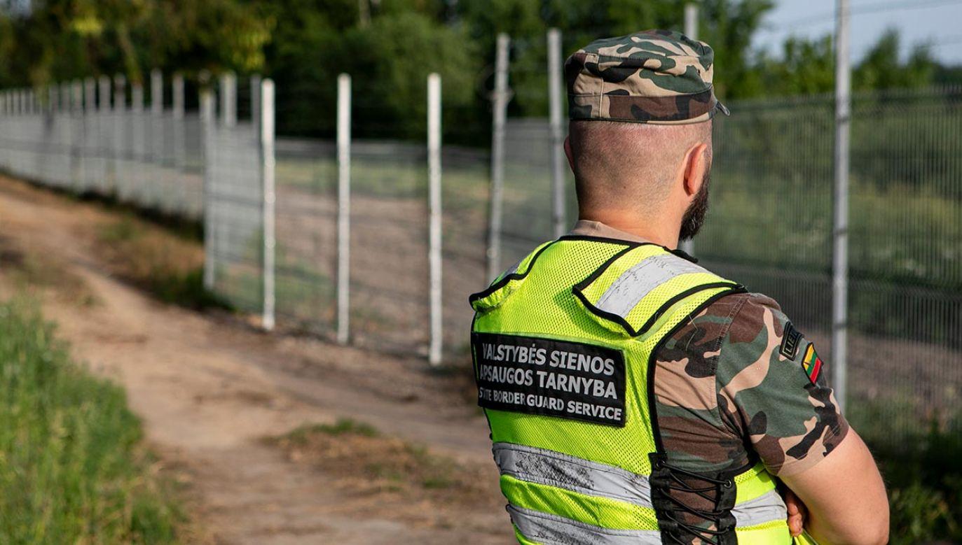 Na Litwę w tym roku trafiło 4172 nielegalnych migrantów (fot. Paulius Peleckis/Getty Images)