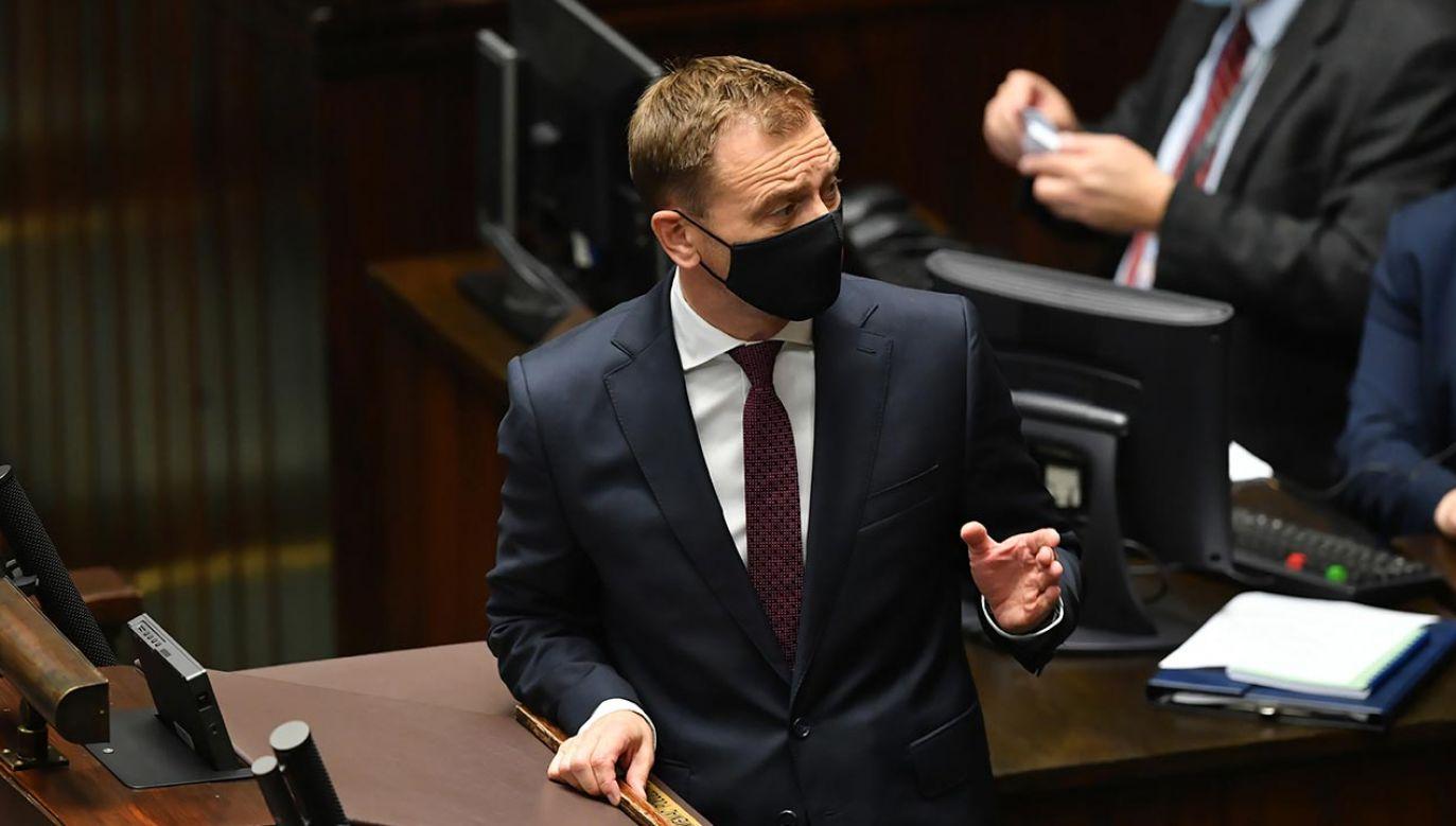 Uchylenie immunitetu Nitrasowi umożliwi przedstawienie mu zarzutów (fot. PAP/Piotr Nowak)
