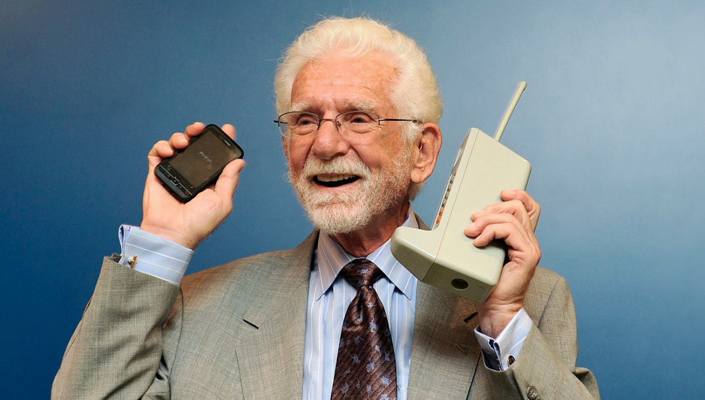 Martin Cooper (fot.  Dusko Despotovic/Corbis via Getty Images)