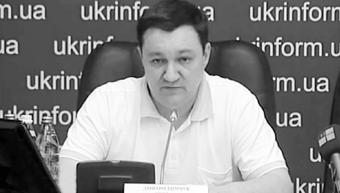 Dmytro Tymczuk uzyskał mandat deputowanego do Rady Najwyższej w 2014 roku (fot. Wikimedia Commons/NEWS UTR)