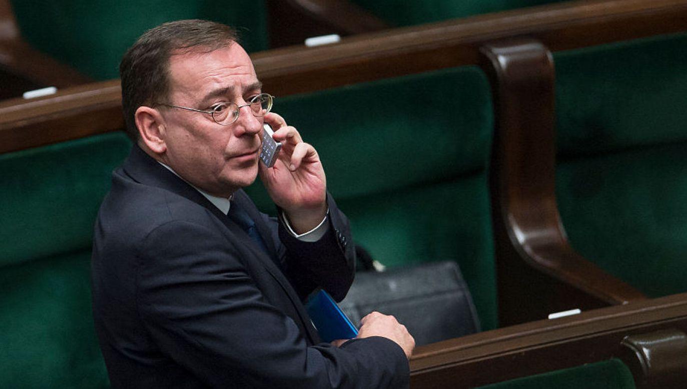 Mariusz Kamiński zostaje w rządzie (fot. Adam Guz/Getty Images)