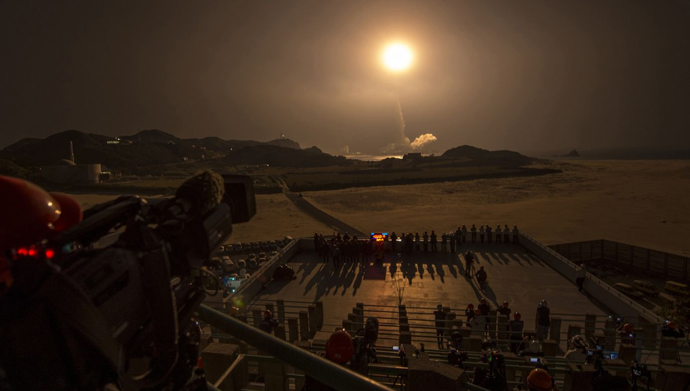 Start rakiety  H-IIA w Japonii (fot. REUTERS/NATO)