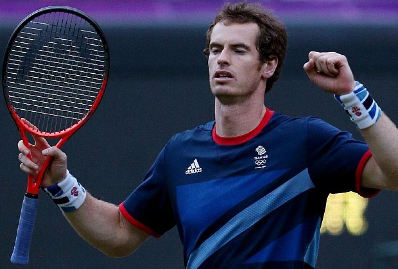Andy Murray w półfinale uporał się z Serbem Novakiem Djokoviciem 7:5, 7:5 (fot. Getty Images)