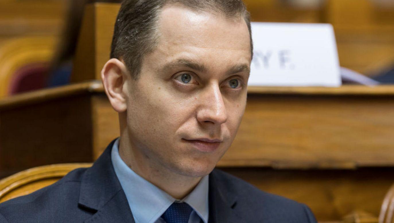 Cezary Tomczyk odniósł się do słów Krzysztofa Rutkowskiego (fot. Horacio Villalobos - Corbis/Corbis via Getty Images)
