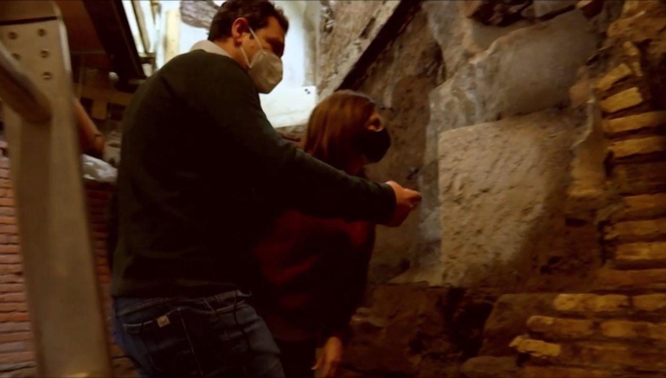 Znaleziono fragmenty muru obronnego starożytnego Rzymu (fot. EBU/RTVE)