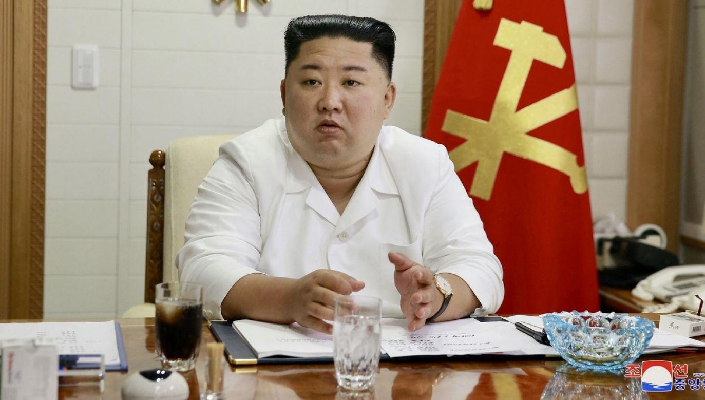 Do południowokoreańskiego urzędnika oddano ponad 10 strzałów (fot. KCNA via REUTERS)