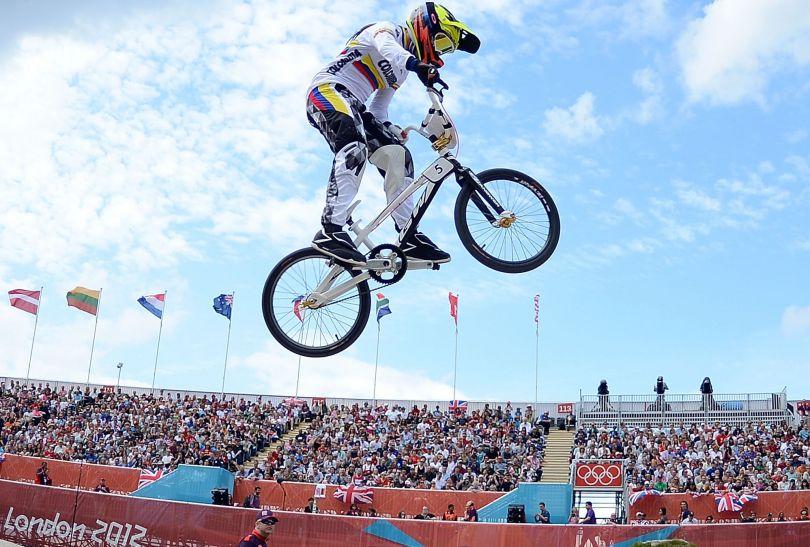Mariana Pajon była najlepsza na trasie BMX-ów (fot. Getty Images)
