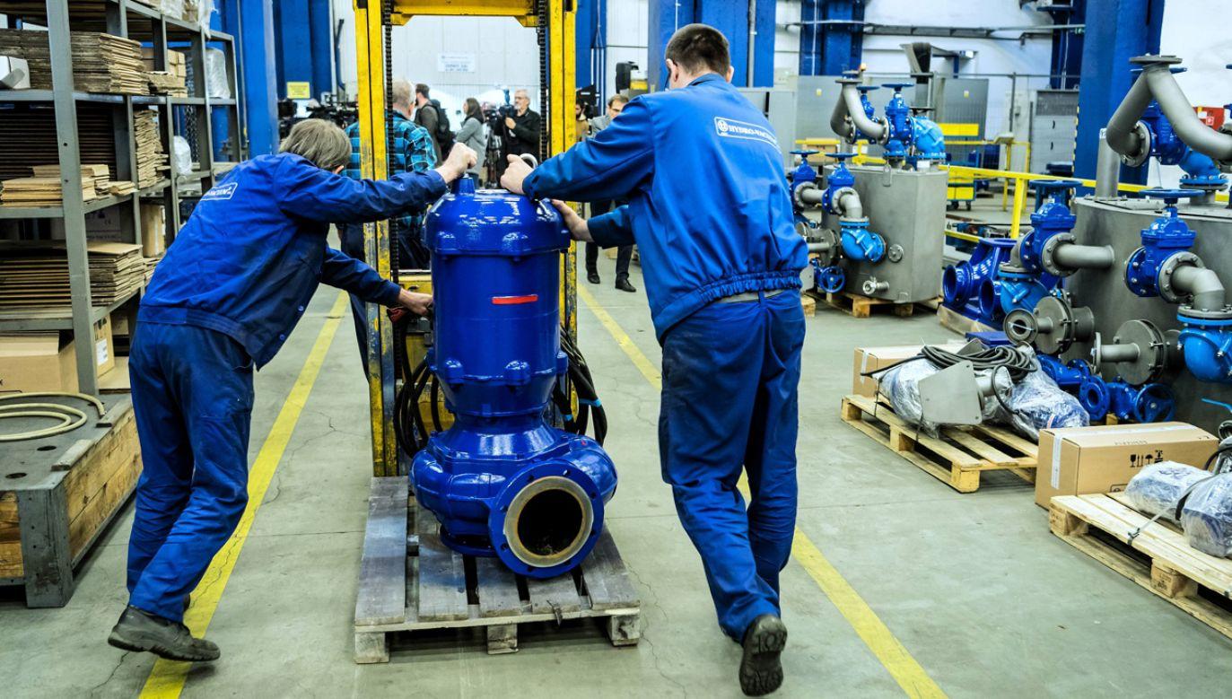 Fabryka Hydro-Vacuum S.A. (fot. arch.PAP/Tytus Żmijewski)