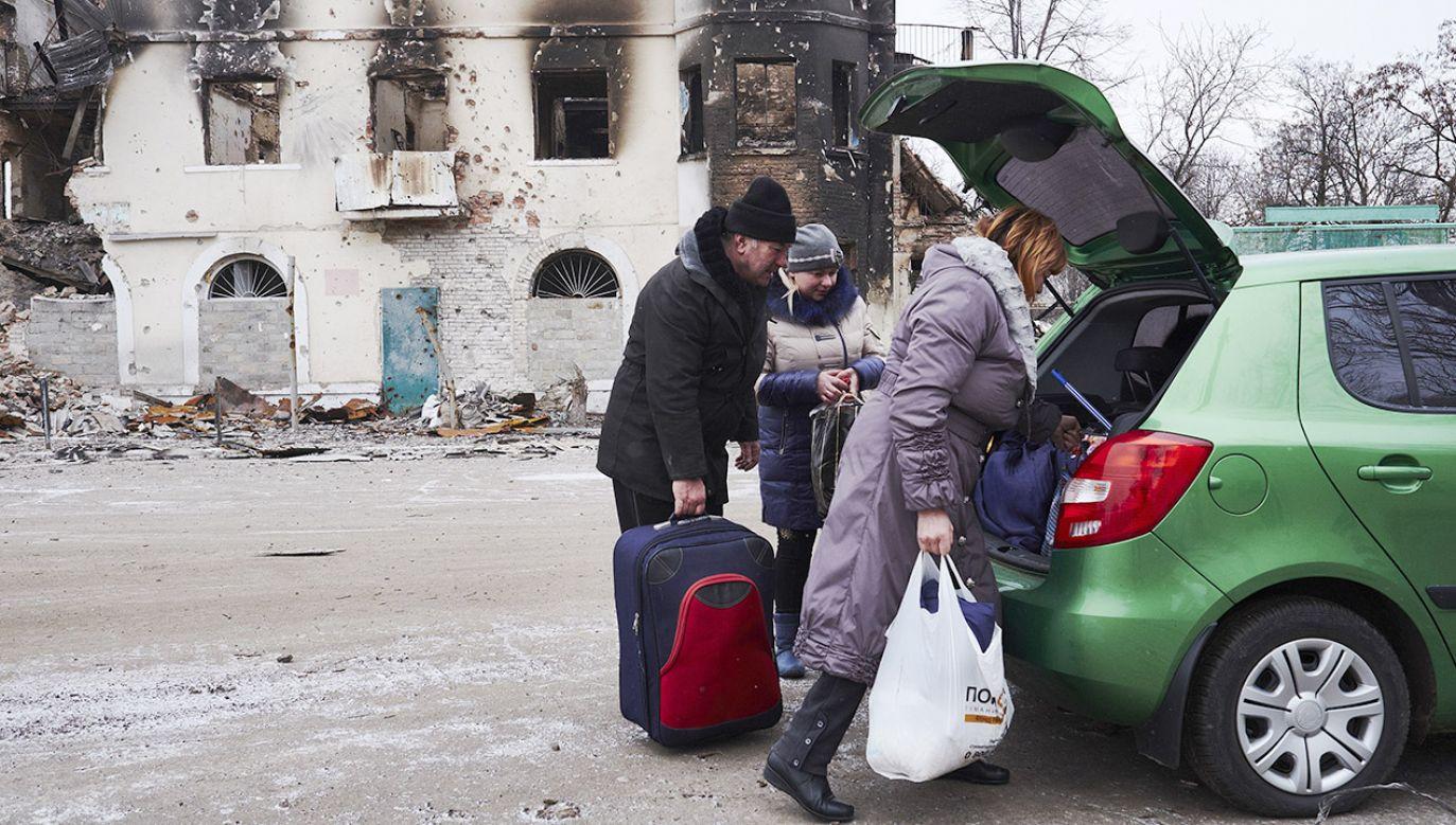 W obwodzie ługańskim ukraińskie władze centralne kontrolują większość miast (fot. Pierre Crom/Getty Images)