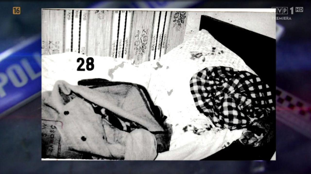 Zabójca z Feliksówki zasłużył na miano bestii (fot. tvp.info za Magazyn Kryminalny 997)